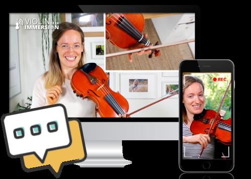 Online Violin Camp - Violin Immersion - 1-on-1 Feedback (9)