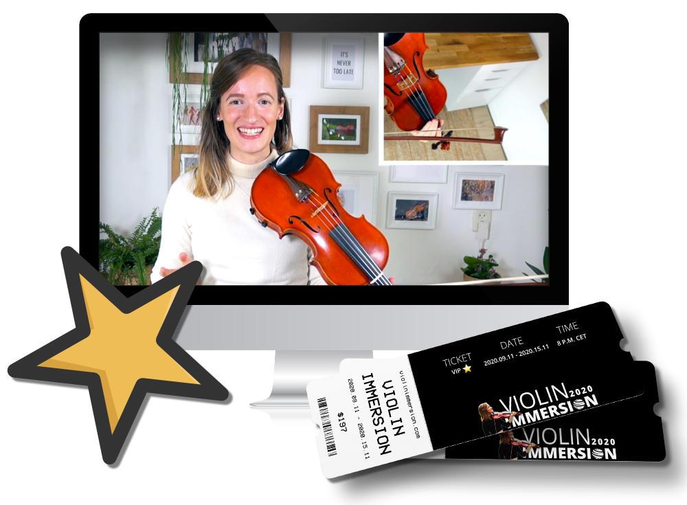 Online Violin Camp - Violin Immersion - Bonus #2