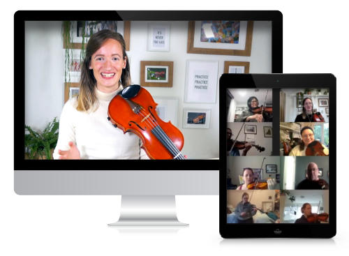 Online Violin Camp - Violin Immersion - Opening Circle
