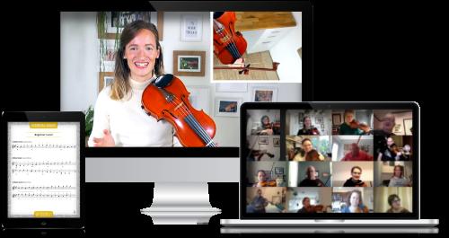 Online Violin Camp - Violin Immersion - Daily Workshops