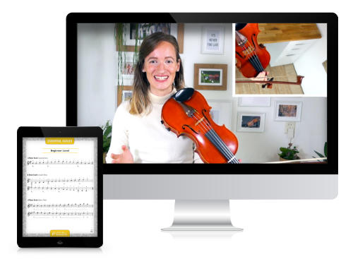 Online Violin Camp - Violin Immersion - Opening Circle