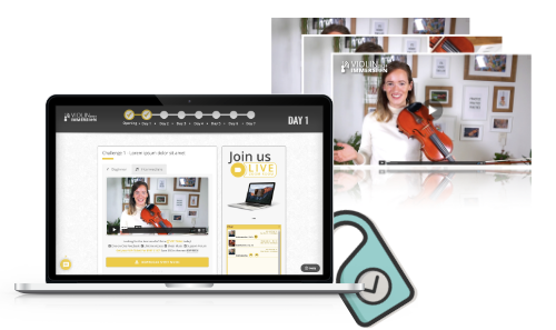 Online Violin Camp - Violin Immersion - Workshops & Challenges