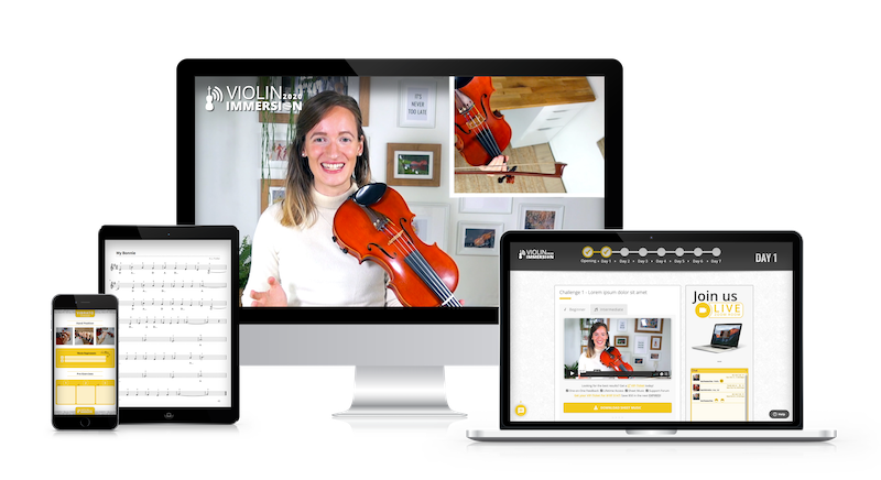 Online Violin Camp - Violin Immersion - get all bonuses